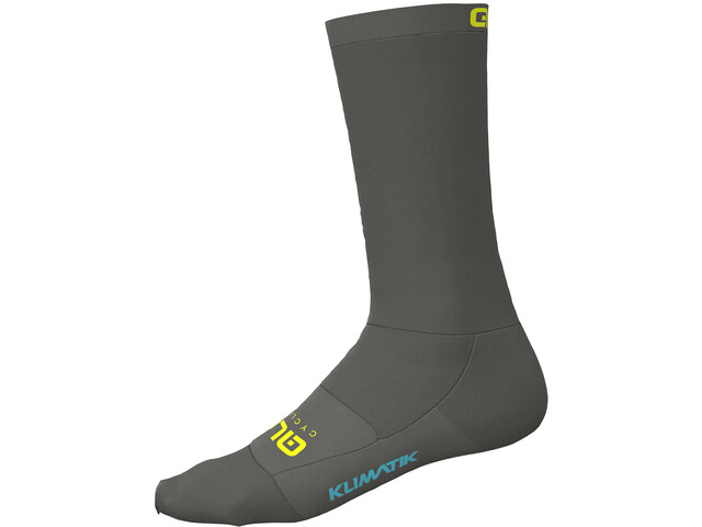 Alé Cycling Klimatik Calcetines, grey-fluo yellow